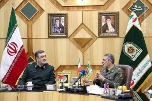 قدردانی فرمانده ارتش از ناجا: خودمان و خانواده هایمان مدیون نیروی انتظامی هستیم