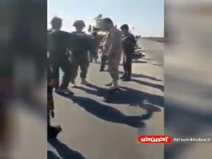 منع عبور کاروان نظامیان آمریکایی توسط ارتش سوریه