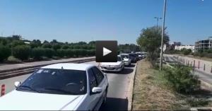 وضعیت عجیب پارکینگ بیمارستان نفت اهواز