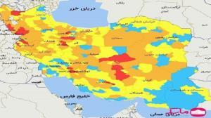 رنگبندی کرونا در استان سمنان بدون تغییر ماند