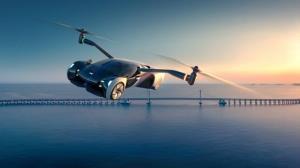 چین خودروی پرنده می سازد