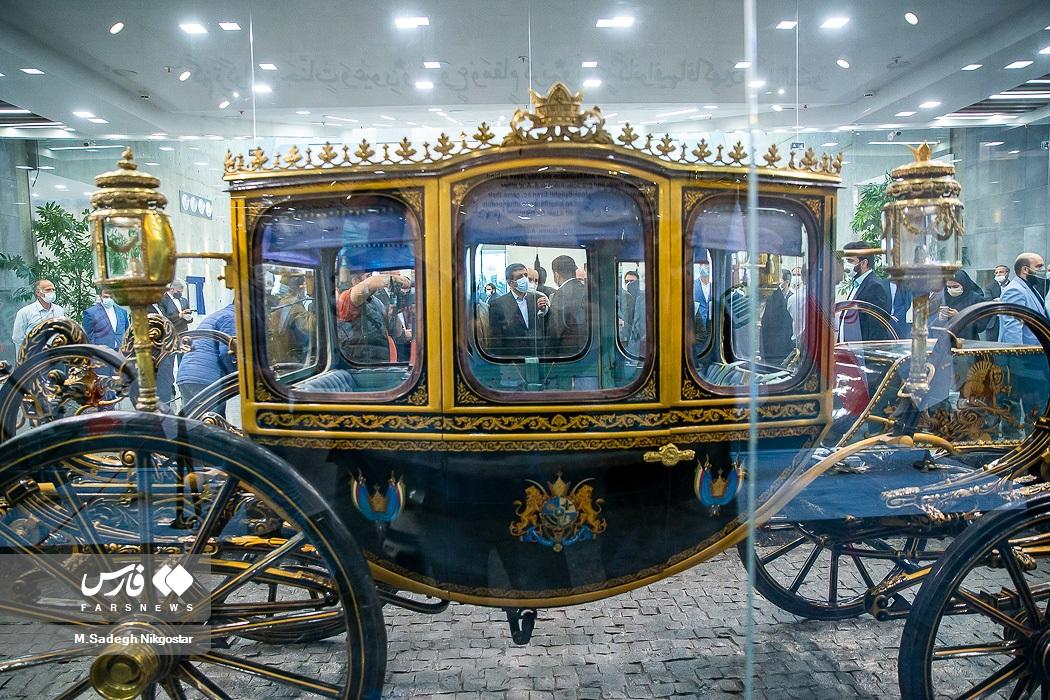 عکس/ از کالسکه ناصرالدین شاه هنگام ترور تا کالسکه جشن تاجگذاری