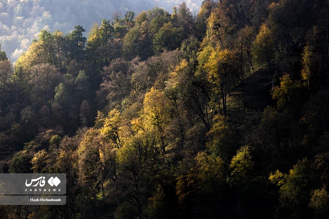 طبیعت پاییزی تالش