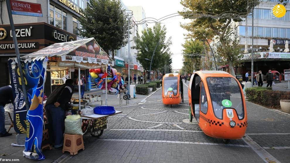 استقبال از تاکسی دوچرخهها در ترکیه
