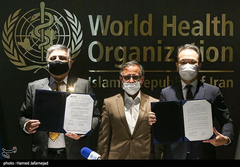 عکس/ امضای یادداشت تفاهم دولت ژاپن و ایران در مقابله با کرونا