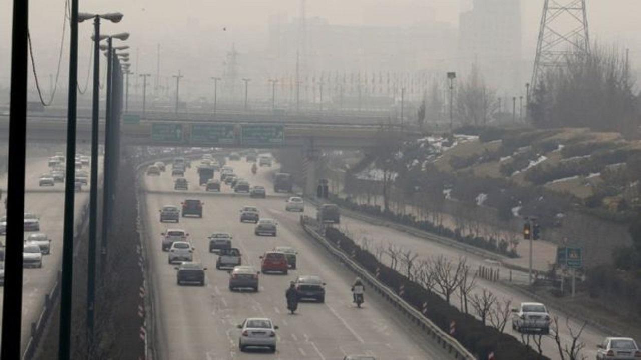 هوای اهواز آلوده است