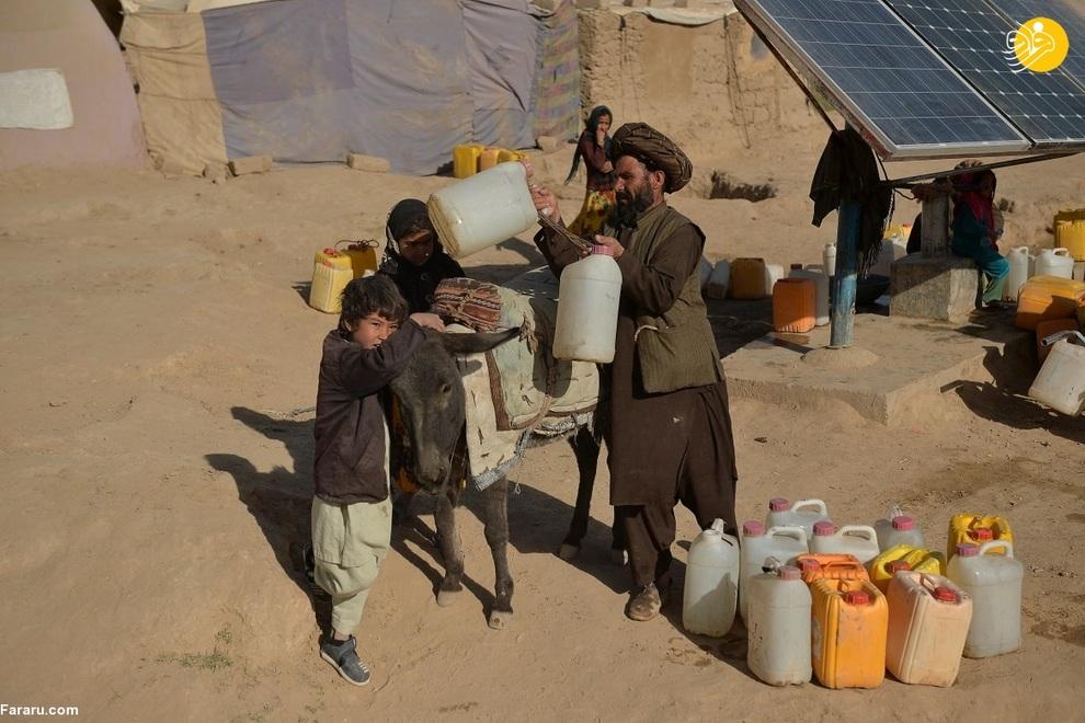عکس/ خشکسالی بدتر از طالبان!