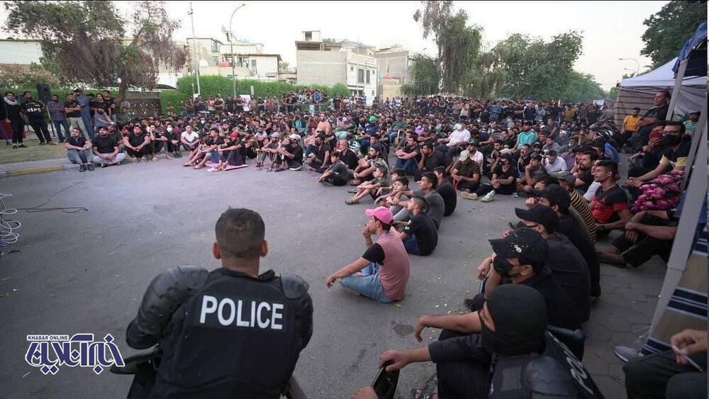 دورهمی مردم بغداد برای تماشای الکلاسیکو