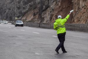 آزادراه تهران-شمال همچنان مسدود است
