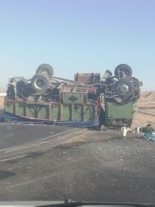 ۱۰ مصدوم طی حوادث واژگونی ۳ خودرو در خراسان جنوبی
