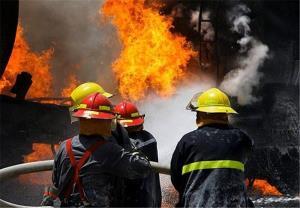آتشسوزی منزل مسکونی در اهواز با ۵ مصدوم