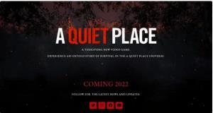 یک بازی بر اساس فیلم A Quiet Place ساخته میشود