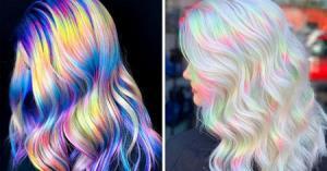 رنگ موی هولوگرافیک چه رنگی است و انواع آن کدامند؟