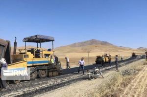 عملیات بهسازی جاده قزوین-رازمیان از سرگرفته شد