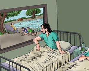 داستانک/ ماجرای تختی که هر بیماری روی آن میخوابید، میمرد!