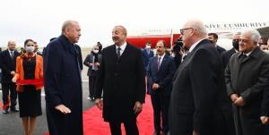 علیاف در قرهباغ از اردوغان استقبال کرد