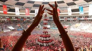 فستیوال ساخت برجهای انسانی در اسپانیا