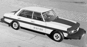 اولین خودروی تست ایمنی مرسدس بنز