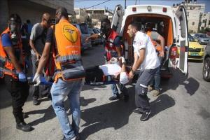 شهرک نشین صهیونیست ۲ فلسطینی را با خودرو زیر گرفت