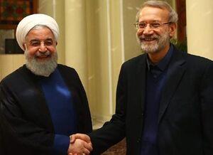 روحانی و لاریجانی در مسیر اتحاد گفتمانی؟