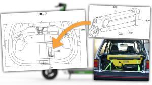 هیوندای و ایده نصب اسکوتر تاشونده در صندوقعقب خودرو