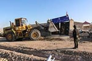 عکس/ تخریب ویلای غیر قانونی شورا و دهیاری روستا!