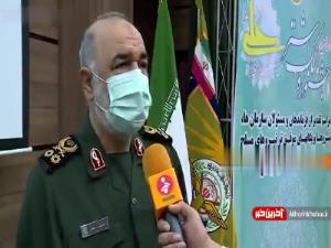سردار سلامی: قدرت دفاعی در همه عرصهها در حال رشد است