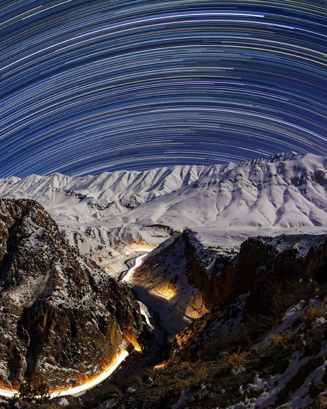 رد ستارگان بر سر البرز