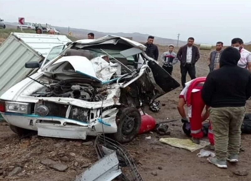 حادثه رانندگی در جاده پارسآباد با یک کشته و ۴ مصدوم