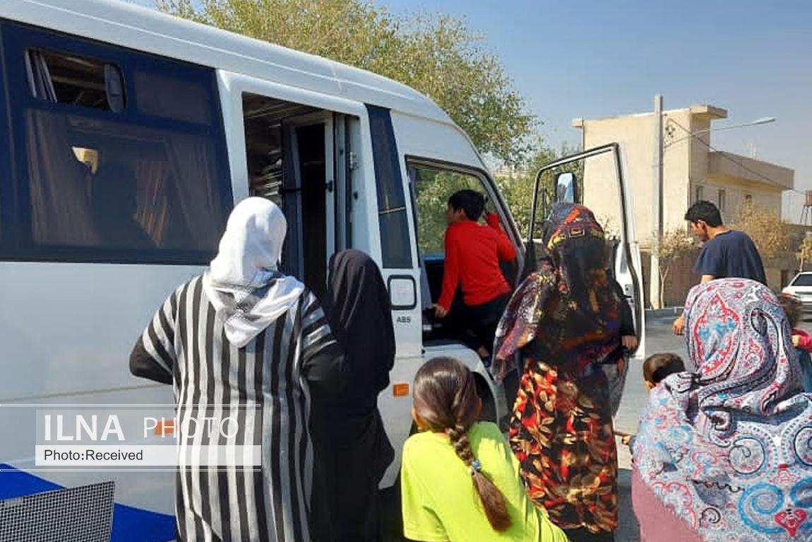 واکسیناسیون مناطقی از جنوب تهران