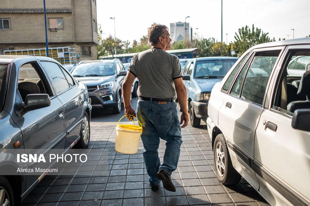 عکس/ وضعیت عرضه بنزین در جایگاههای سوخت کشور
