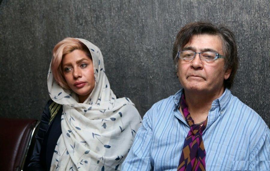 چهره ها/ عکسی از بزرگداشت رضا رویگری در کنار همسرش تارا کریمی