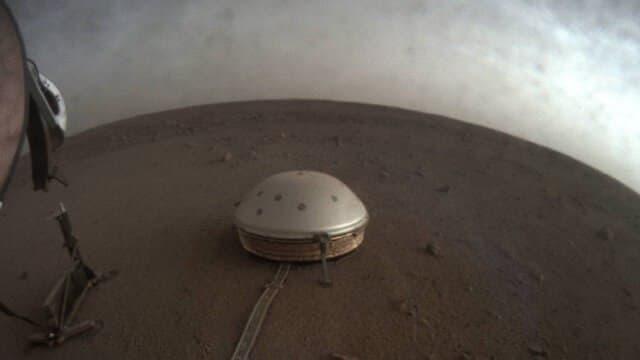 صدای لرزش و بادهای مریخ را بشنوید