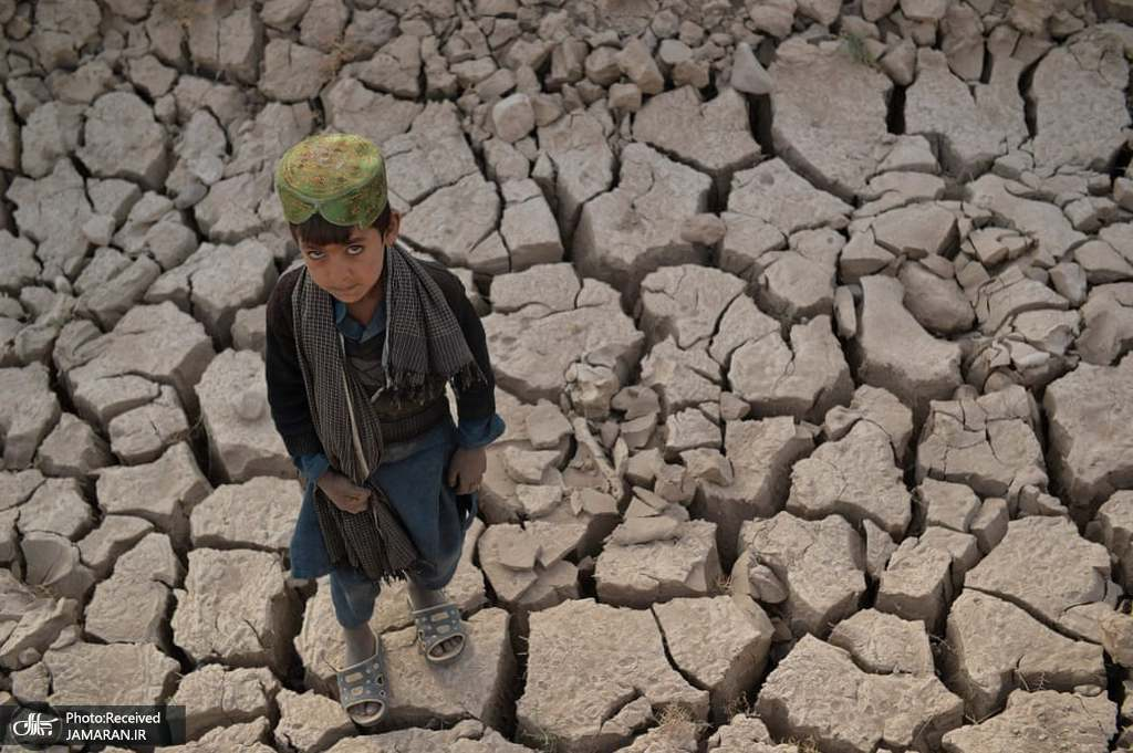 خشکسالی شدید مزارع در افغاستان