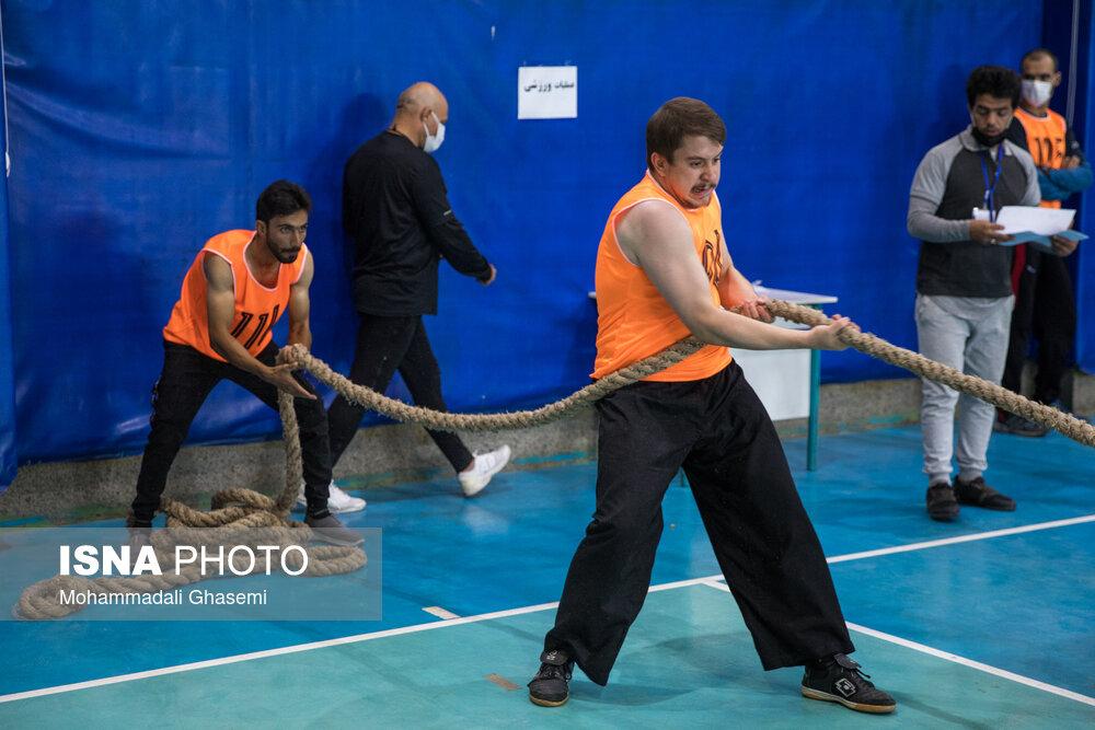 برگزاری آزمون عملی آتشنشانی تهران