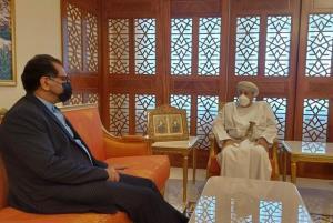 سفیر ایران با وزیر کشور عمان دیدار کرد