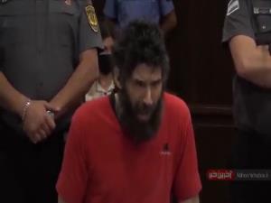 حرکات عجیب متهم به قتل موجب اخراج او از دادگاه شد!