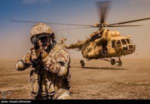 تمرین تاکتیکی فاتحین برای مقابله با عملیاتهای گروهکهای تروریستی و تکفیری