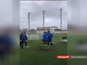تمرین ستاره ایرانی سوژه باشگاه زنیت شد