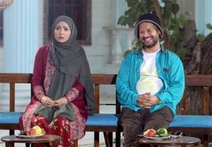 علی صادقی مقابل دوربین سریال طنز تلویزیون