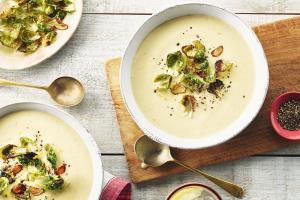 سوپ گل کلم؛ برای روزهای سرد پاییز