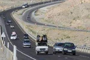 تردد ورودی به جادههای خراسان شمالی ۸ درصد افزایش یافت