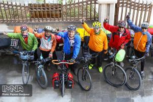 پایان تور دوچرخه سواری پیشکسوتان در اصفهان