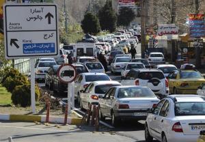 ترافیک سنگین در آزادراه کرج - تهران از پل فردیس تا پل کلاک ادامه دارد