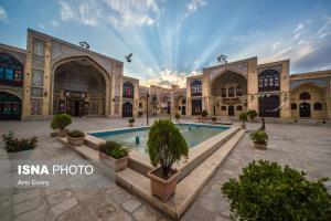 مسجد تاریخی «عمادالدوله» در کرمانشاه