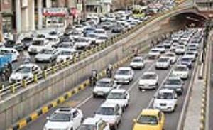 کاهش محدودیت های کرونایی، علت اصلی ترافیک تهران