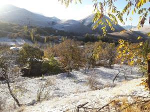 برف دمای خلخال را به ۸ درجه زیر صفر رساند