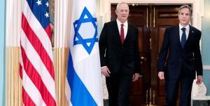 تماس تلفنی پرتنش بلینکن با گانتز درباره شهرکسازیهای اسرائیل