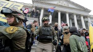 متهم شدن کهنه سرباز آمریکایی در حادثه حمله به ساختمان کنگره