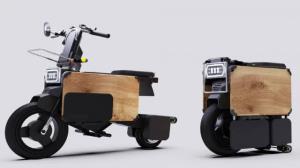 خداحافظی با پارکینگ با یک موتورسیکلت برقی تاشو!